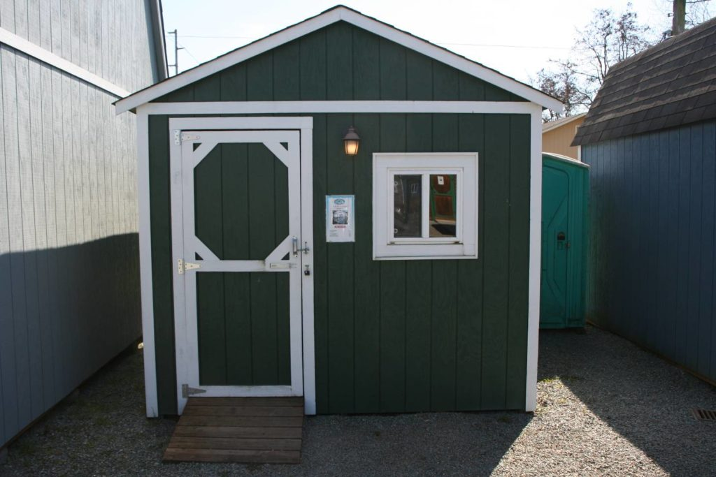 Can I Fit in a 10 X 10 Shed?