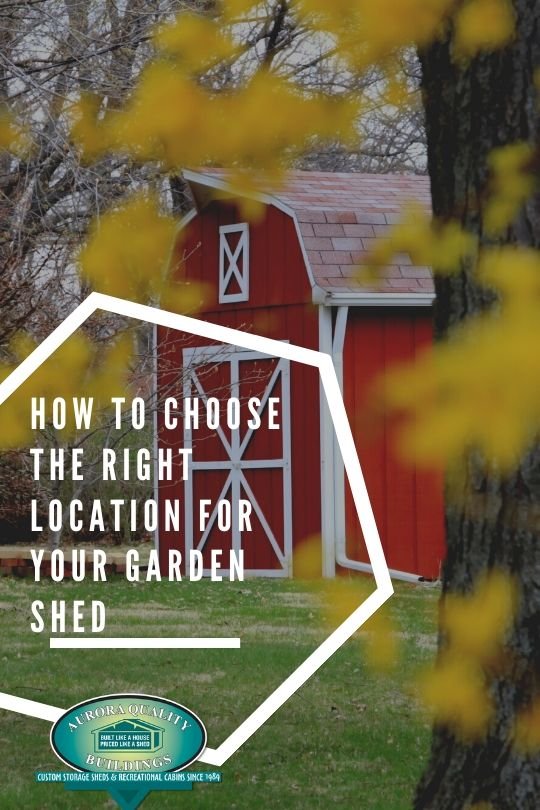 How to Choose the Right Location for Your Garden Shed
