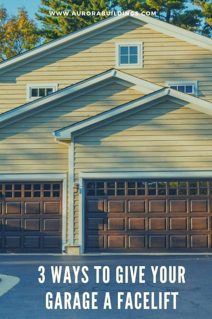 3 Ways to Give Your Garage a Facelift