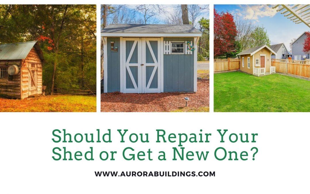 Should You Repair Your Shed or Get a New One?
